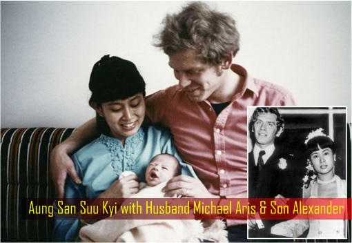 essay about aung san suu kyi husband