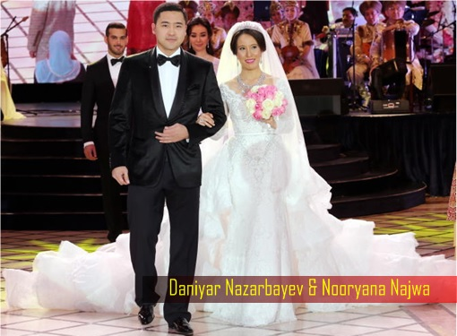 Daniyar Nazarbayev and Nooryana Najwa Wedding