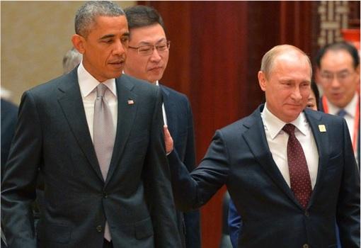 Forbes 2015 Most Powerful Man - Putin Pat Obama