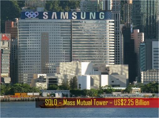 Hong Kong billionaire Joseph Lau - Sold Mass Mutual Tower