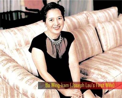 Hong Kong billionaire Joseph Lau's First Wife Bo Wing-kam