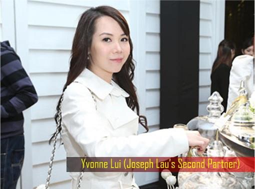 Hong Kong billionaire Joseph Lau's Second Partner Yvonne Lui