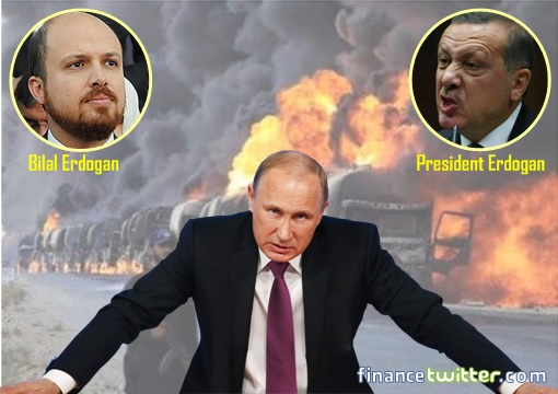 ISIS Oil Trucks Bombed - Putin - Erdogan