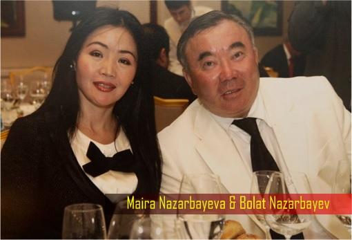 Kazakhstan Maira Nazarbayeva and Bolat Nazarbayev