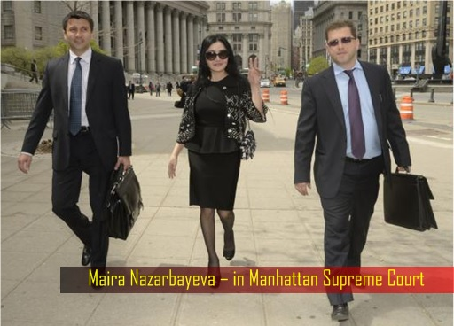 Maira Nazarbayeva Refuses to Pay Belkin Bags - in Manhattan Supreme Court