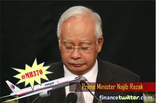 Malaysian Airlines MH370 Missing - Solemn Najib Razak
