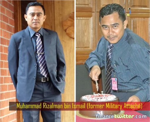 Muhammad Rizalman bin Ismail - former Military Attaché - Cutting Cake