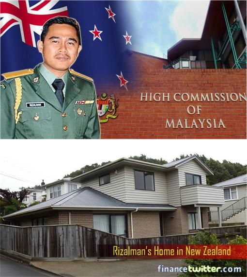 Muhammad Rizalman bin Ismail - former Military Attaché - New Zealand Home