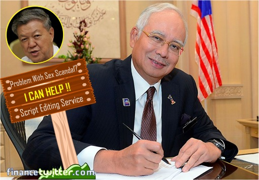 PM Najib Razak Provides Script Editing Service to Sex Scandal Chua Soi Lek
