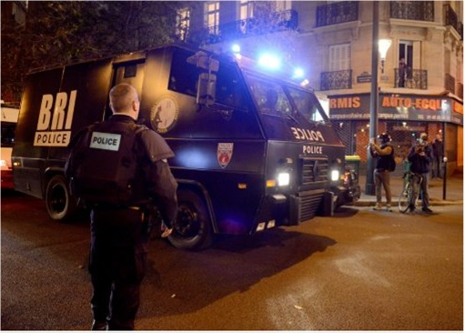 Paris Attacks by ISIS Terrorists - BRI Police