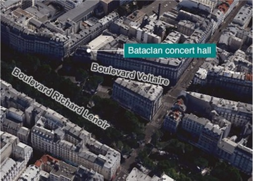 Bataclan Concert Hall Paris Map.Here S Why Isis Paris Attacks New Threats Are Such A Big Deal