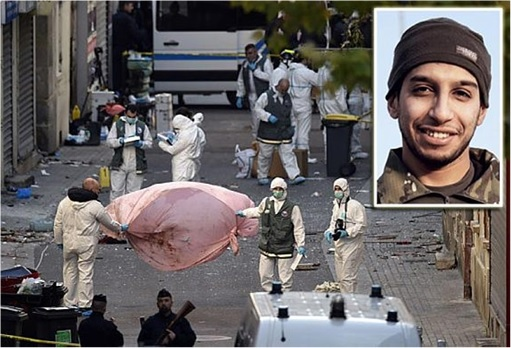 Paris Saint-Denis RAID - Paris Attacks Mastermind Abdelhamid Abaaoud - Blown to Pieces