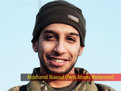 Paris Saint-Denis RAID - Paris Attacks Mastermind Abdelhamid Abaaoud - Smiling