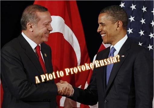 President Erdogan Meets President Obama - Plot to Provoke Russia