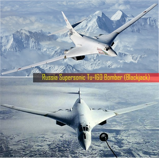 Russian Tu-160 Bomber - Blackjack 2