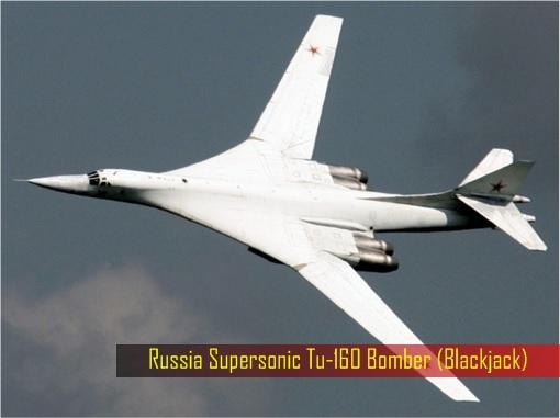 Russian Tu-160 Bomber - Blackjack