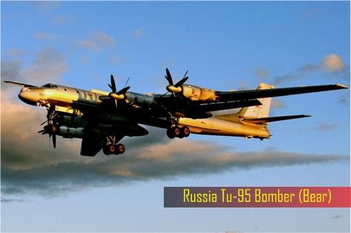 Russian Tu-95 Bomber - Bear