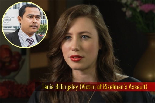 Tania Billingsley - Victim of Rizalman Assault