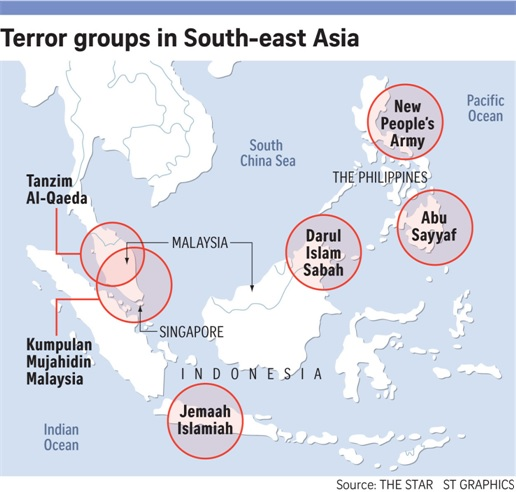 Terror Groups in South East Asia - ISIS ISIL Islamic State