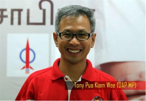 Tony Pua Kiam Wee - DAP MP