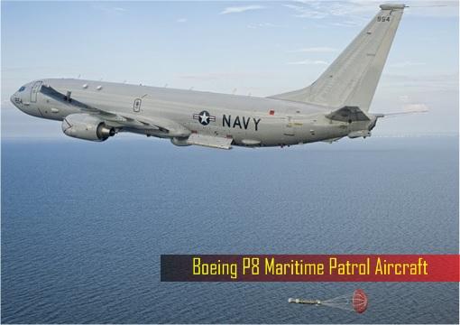 UK Britain Military Spending - Boeing P8 Maritime Patrol Aircraft