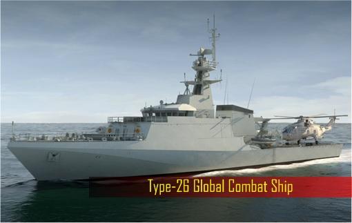 UK Britain Military Spending - Type-26 Global Combat Ship