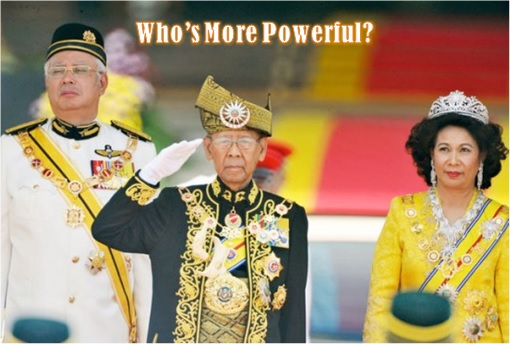 Agong and Najib - Who is more Powerful