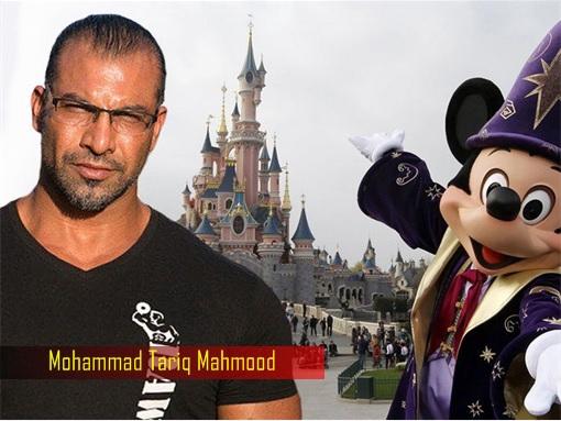 British Mohammad Tariq Mahmood - Disneyland California