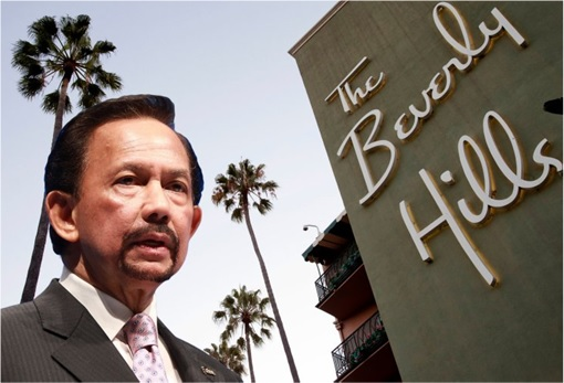 Brunei Sultan Hassanal Bolkiah and The Beverly Hills Hotel