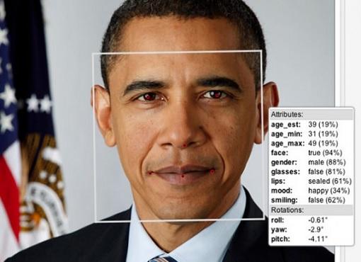 Facial Recognition - Barack Obama Attributes