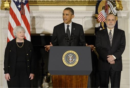 Federal Reserve Chair - From Ben Bernanke to Janet Yellen