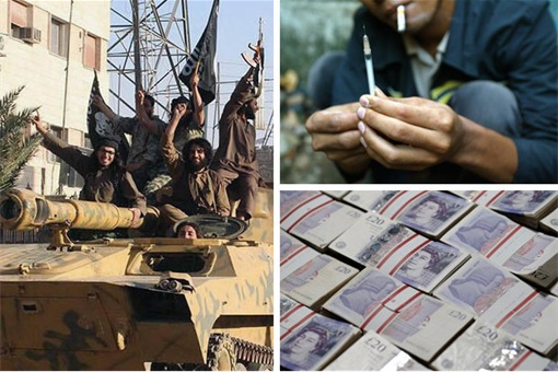 ISIS Drug Trafficking to Europe and UK