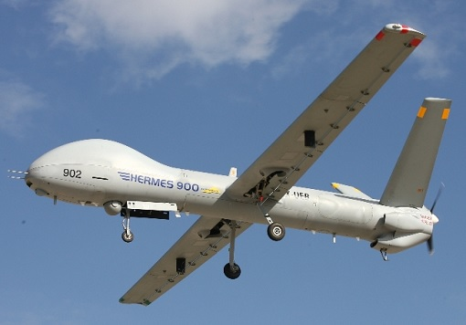Israel Air Force Hermes 900 Drone