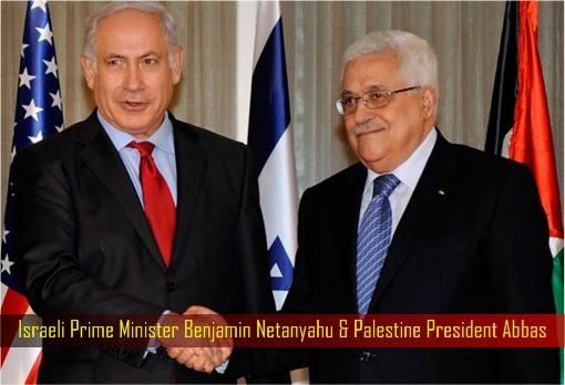 Israeli Prime Minister Benjamin Netanyahu and Palestine President Abbas
