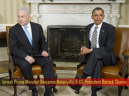 Israeli Prime Minister Benjamin Netanyahu and US President Barack Obama