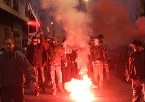 Jardins de L'Empereur - French island of Corsica - Retaliation to Arab Youth Riots