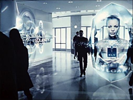 Minority Report - Tom Cruise Advertisements