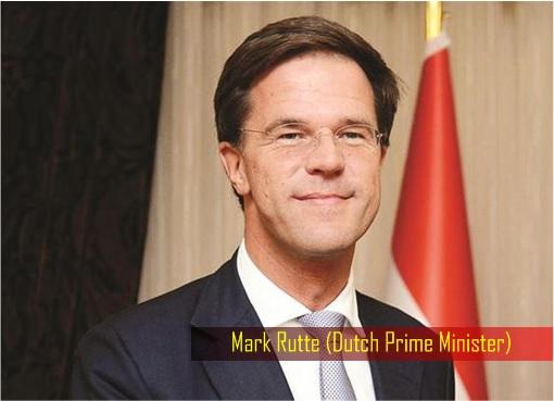 Netherlands Prime Minister Photo Mark Rutte