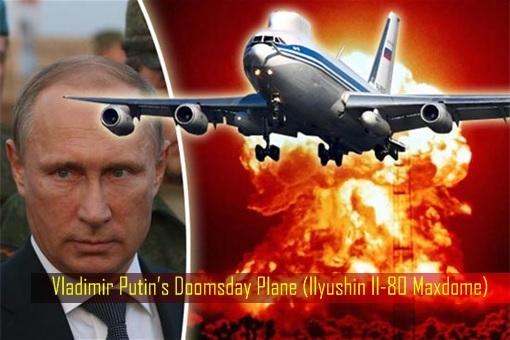 Russia Doomsday Plane - President Vladimir Putin