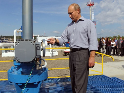 Russian Putin Officiate Oil Production