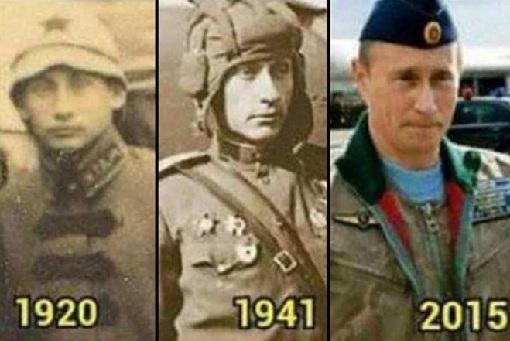 Russian Vladimir Putin Immortal - Photos - 1920 1941 2015