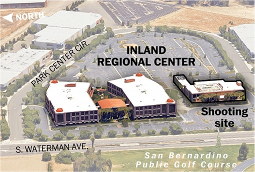 San Bernandino Shooting Site - Inland Regional Center