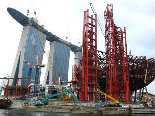 Singapore Casino Under Construction