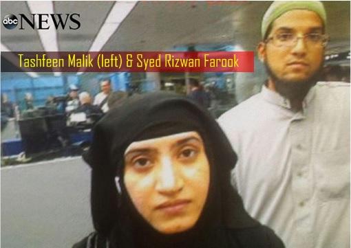 Tashfeen Malik and Syed Rizwan Farook - San Bernandino Shooting Terrorism