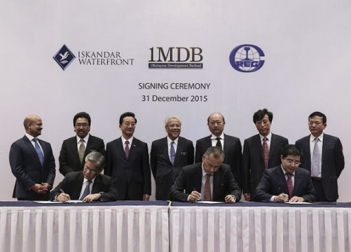 1MDB Selling Bandar Malaysia Land to China Railway Engineering Corporation (CREC) and Iskandar Waterfront Holdings (IWH) - Signing Ceremony