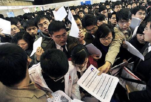 China Graduates Rushing For Employment