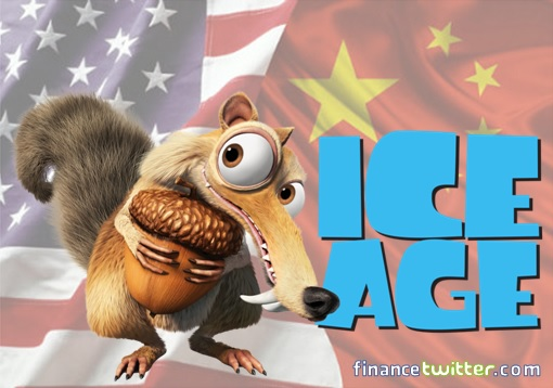 China and United States Financial System - Ice Age