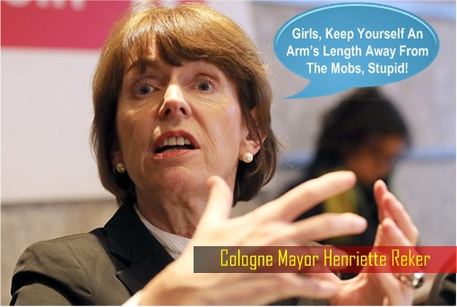 Cologne Mayor Henriette Reker - Keep An Arm Away From Mobs