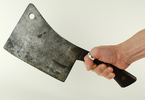 Crime Spikes - Snatch Theft Using Meat Cleaver