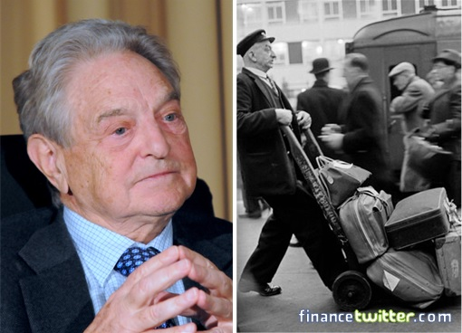 George Soros Was a Railway Porter and Waiter